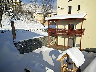 Villa Krejza in winter